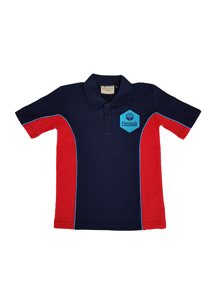 Newlands Int. Polo Navy/Red/Aqua